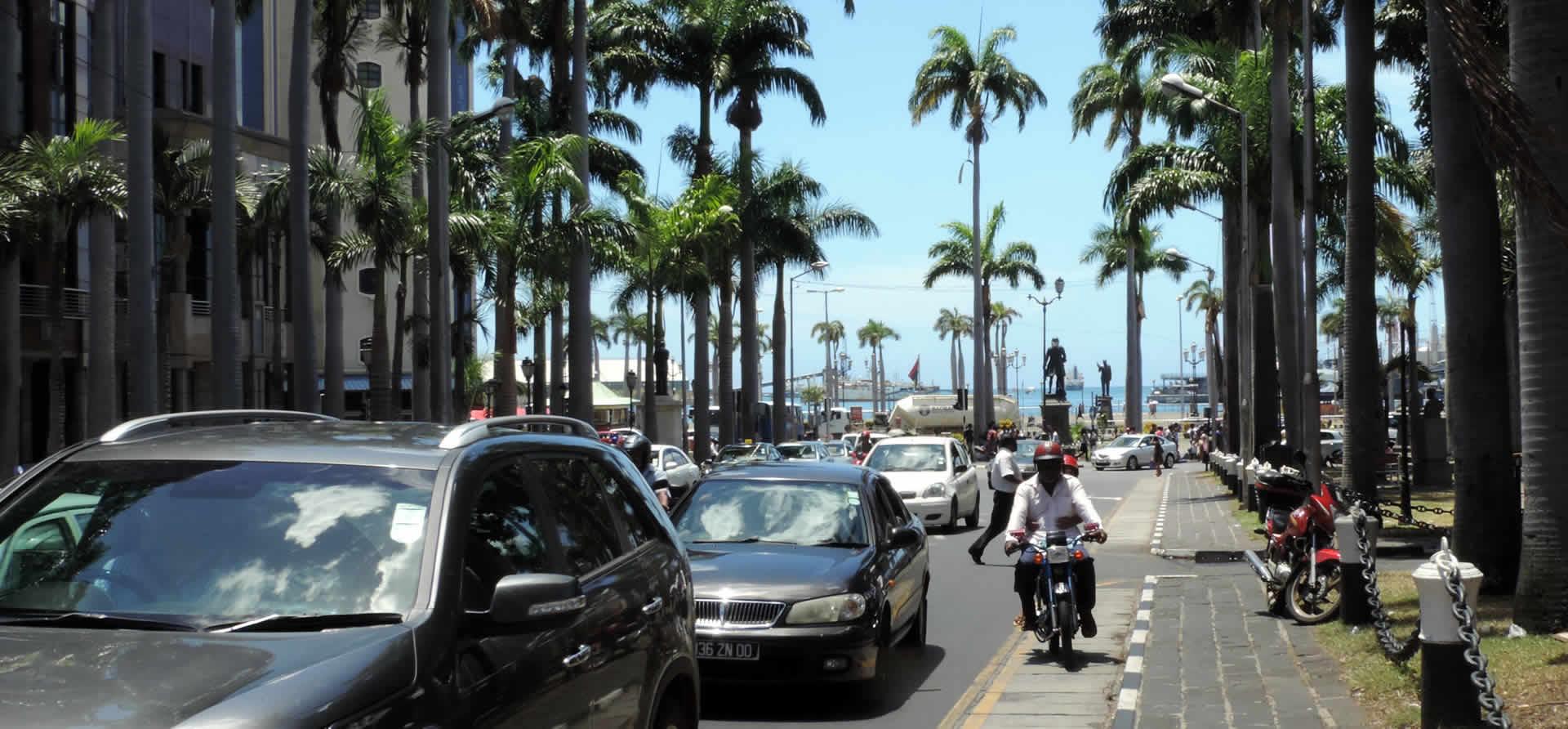 Port Louis, capital de Mauricio