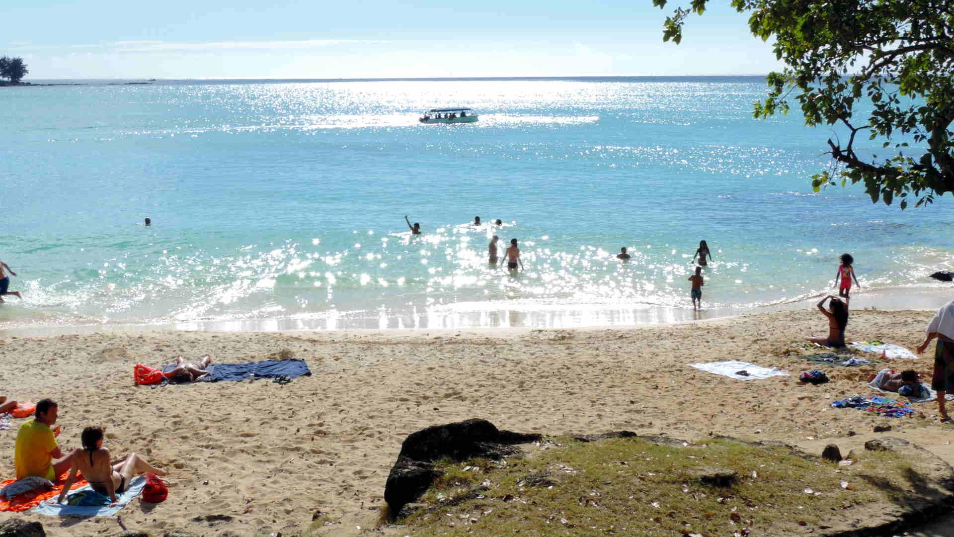 Strand La Cuvette in Grand Baie, Mauritius