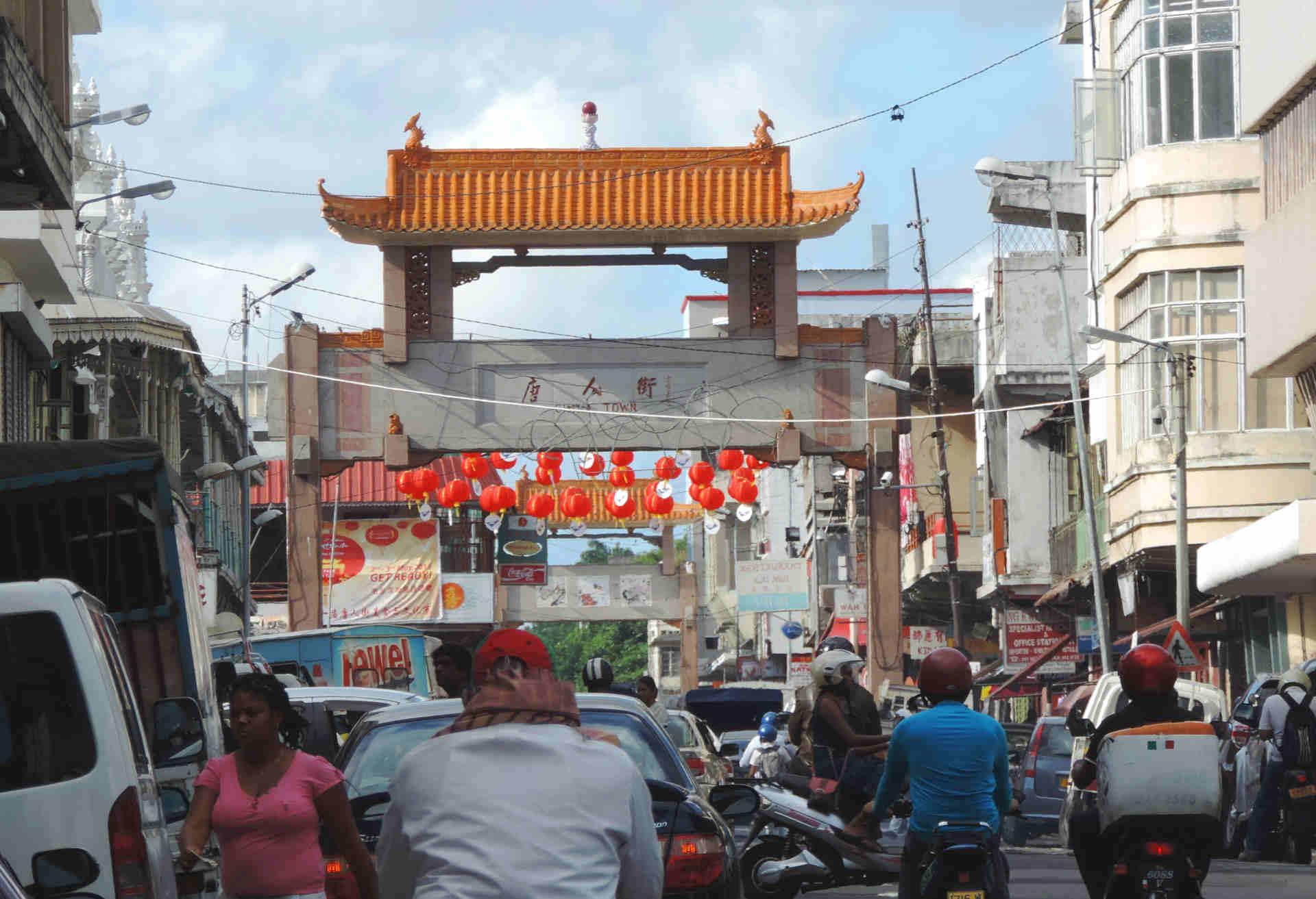 China-Stadt, Port Louis, Mauritius