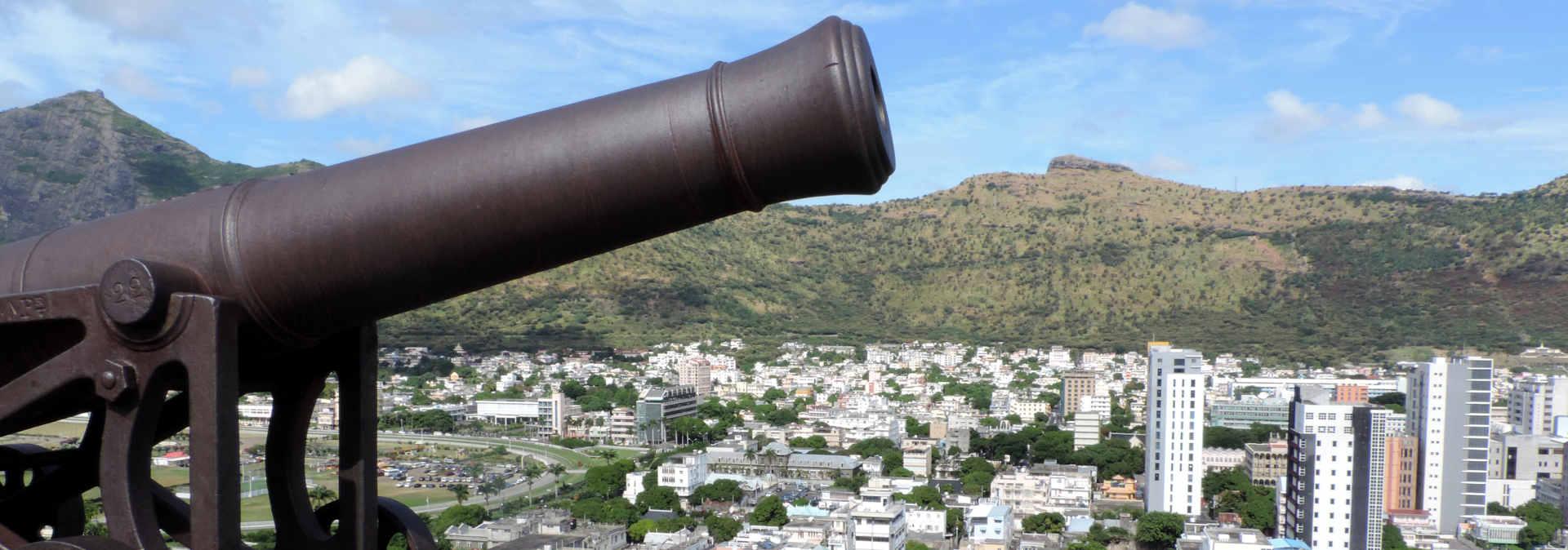 Citadelle Fort Adelaide en Mauricio