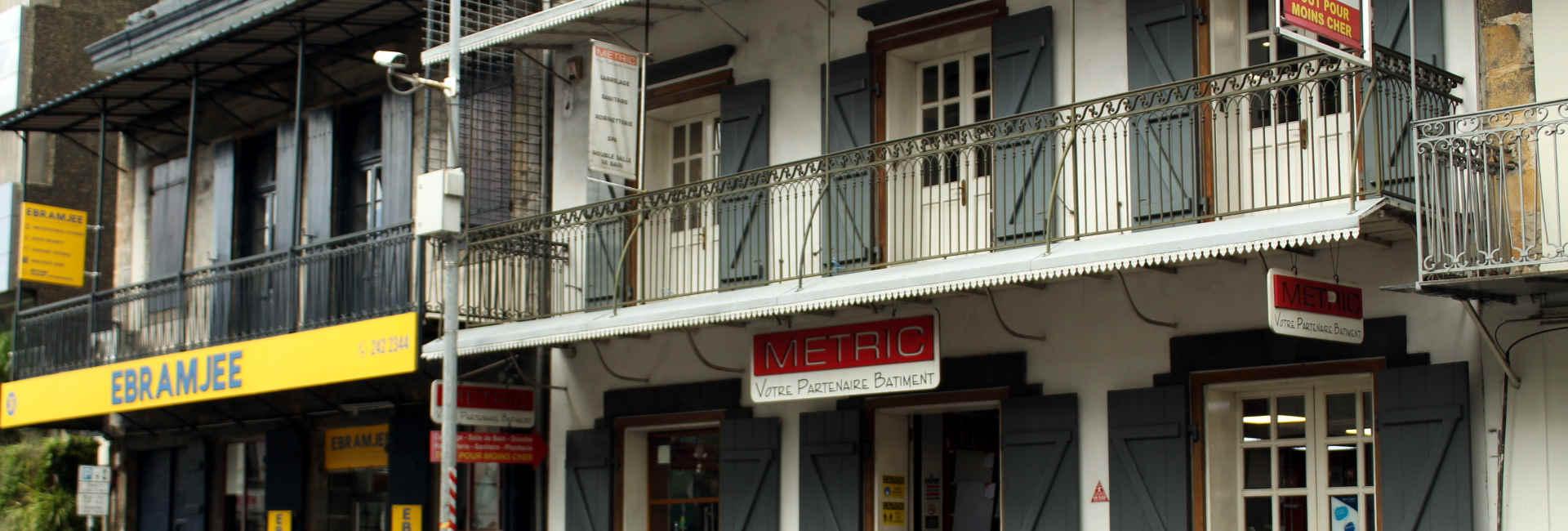 Koloniales Gebäude in Port Louis