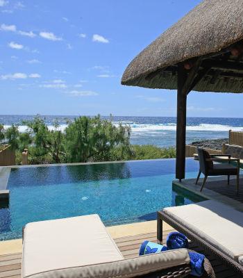 Strandvilla met zwembad in Mau