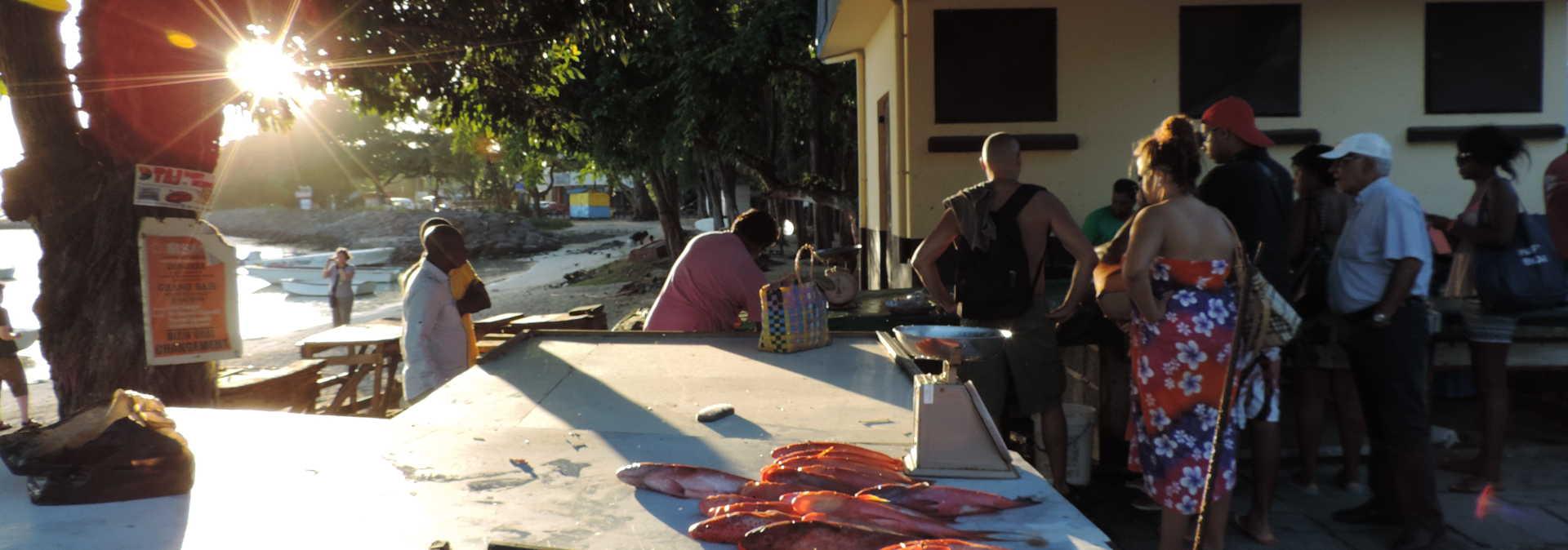 Fischmarkt in Grand Baie