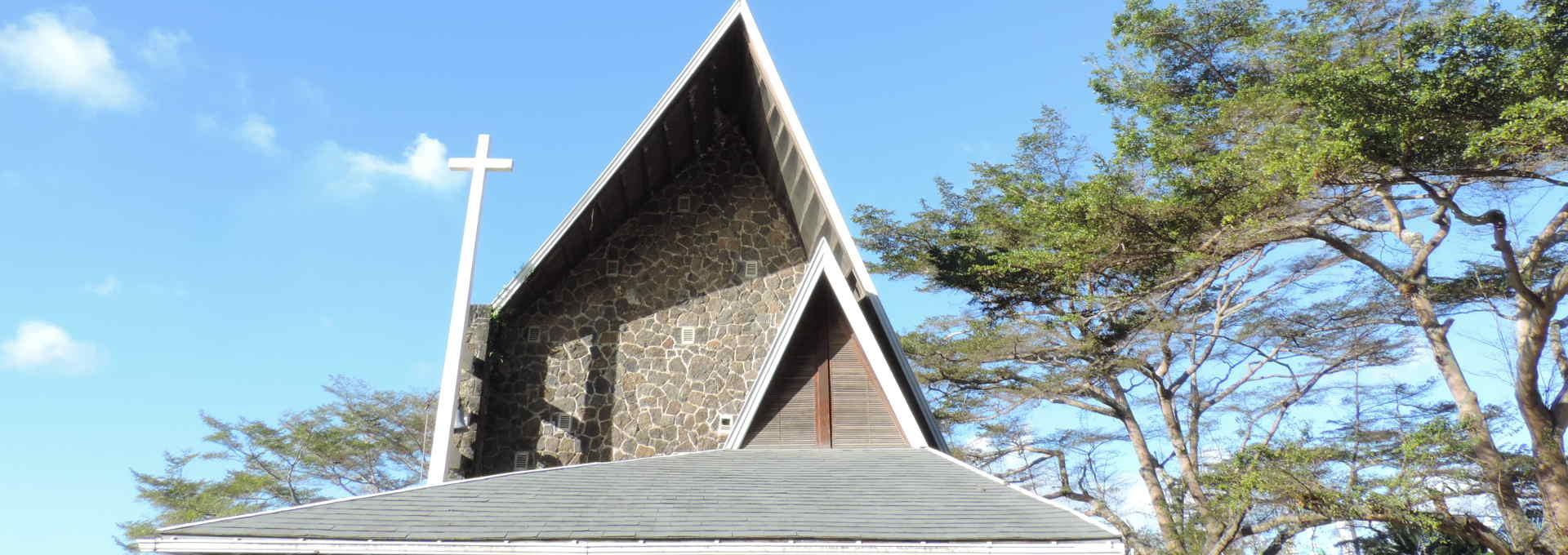 Die Kirche von Grand-Baie
