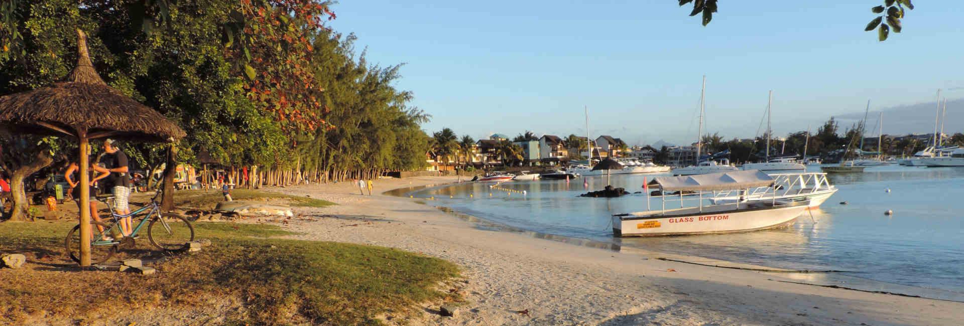 Puesta de sol en Grand Bay Mauricio