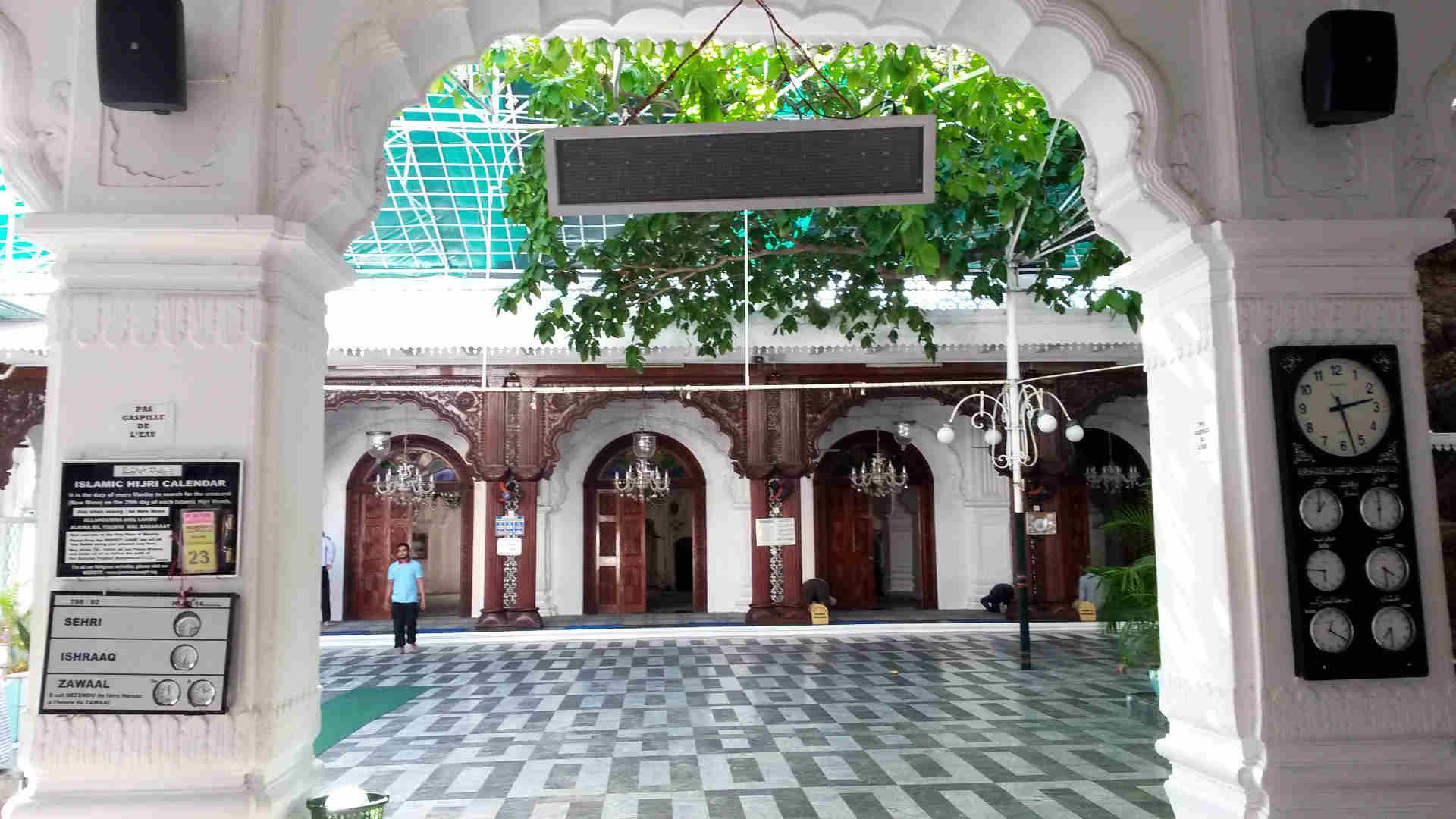 Jummah mosque Port Louis Mauricio