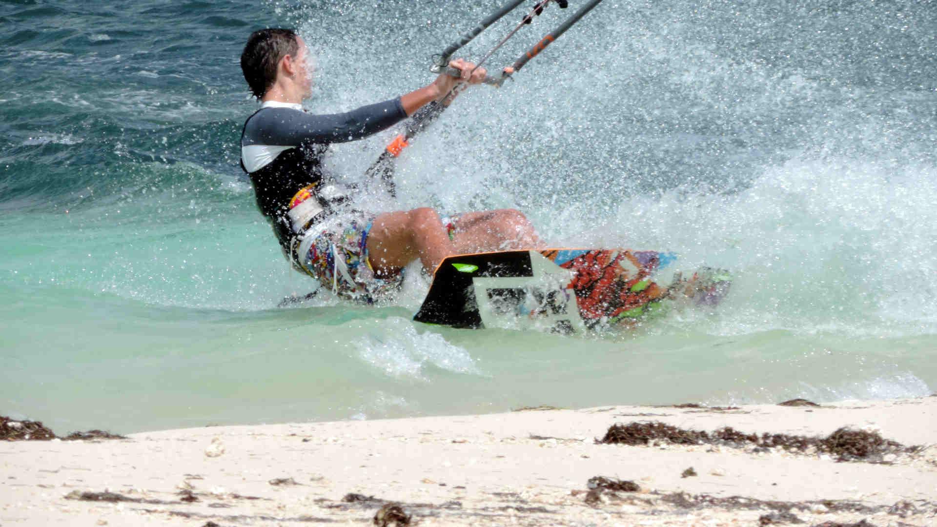 Kitesurfen Ostküste von Mauritius