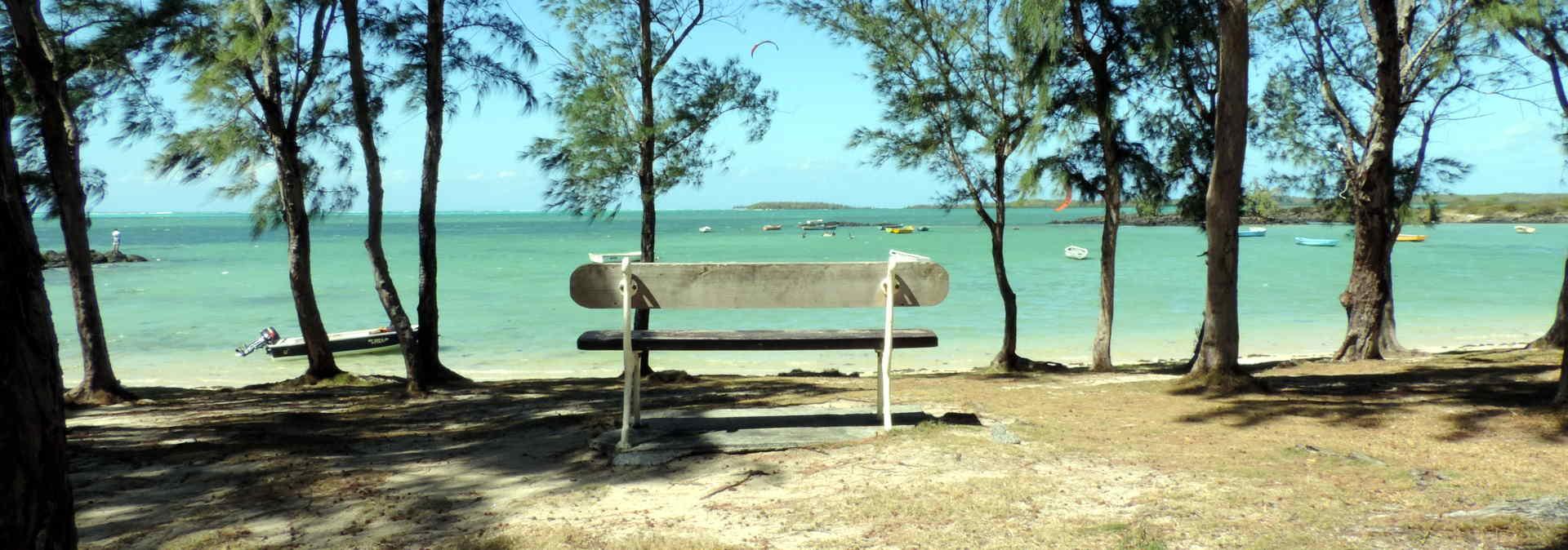 Lagoon of Mauritius