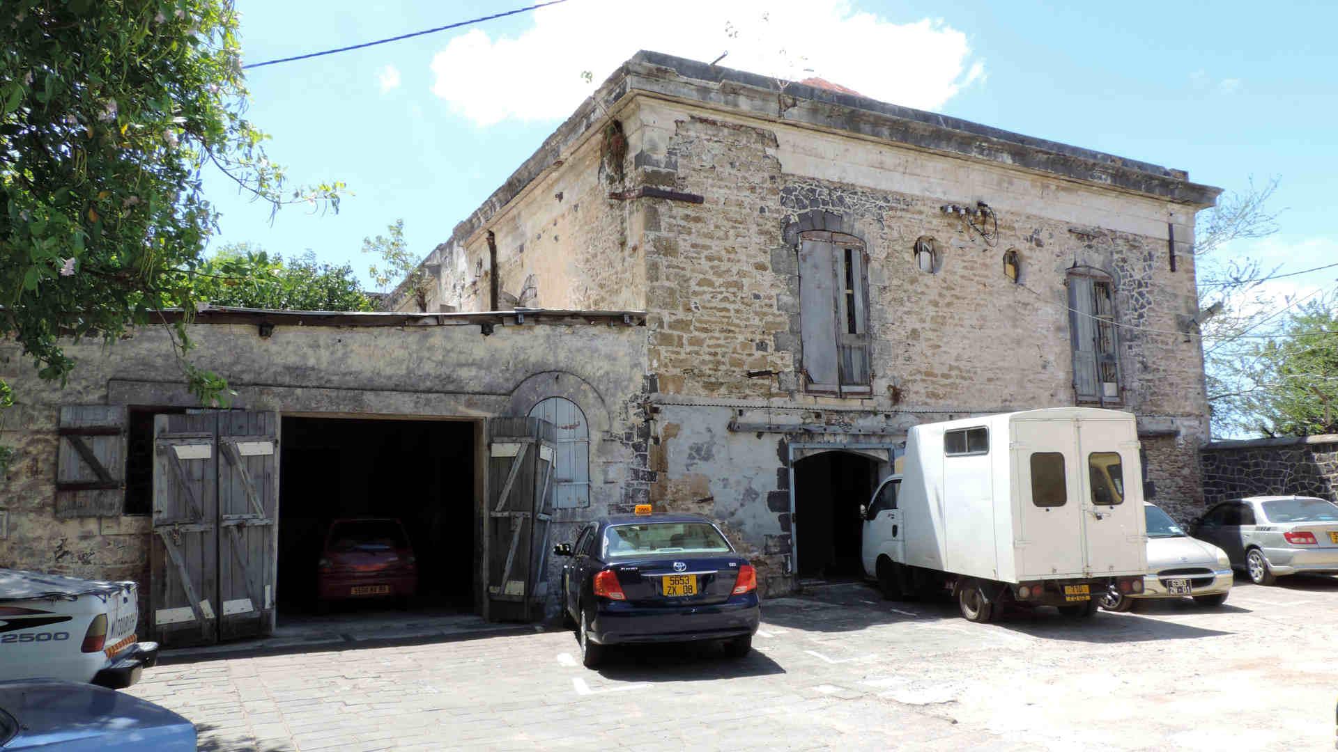 El edificio más antiguo de Mauricio