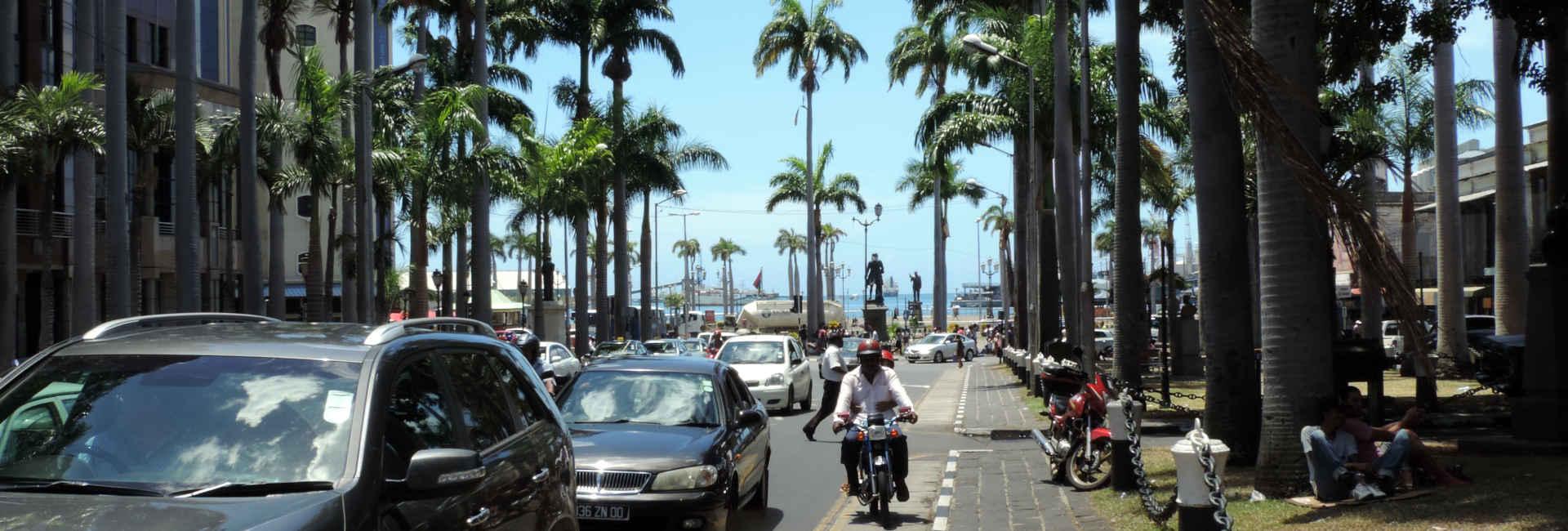 Port Louis Zentrum, Mauritius