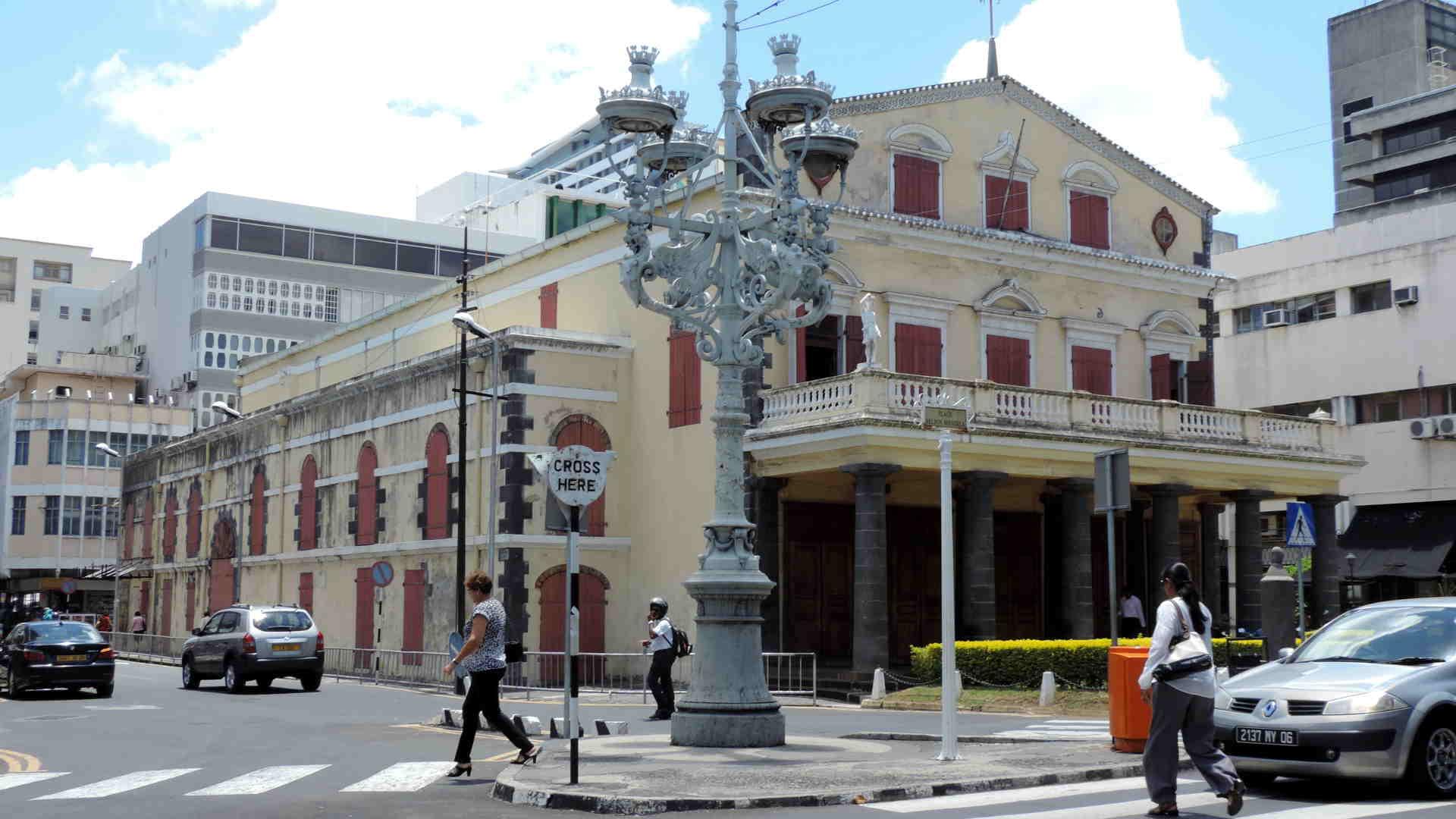 Teatro de Port Louis en Mauricio