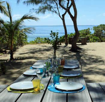Villa de playa Lakana en Pointe d'Esny, Mauricio