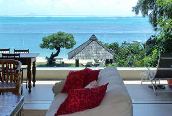 Apartamento en primera planta en la playa de Mauricio