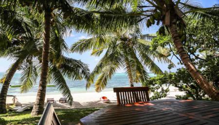 Beach bungalow in Mauritius